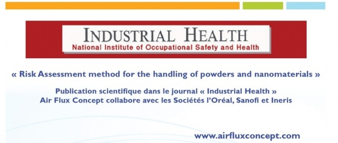 Publication d'un article scientifique dans la revue Japonaise Industrial Health